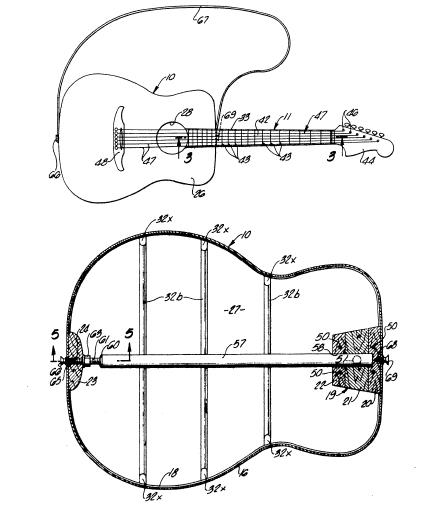 akustische gitarre selbst bauen saiteninstrumente patente patentschriften ebay. Black Bedroom Furniture Sets. Home Design Ideas
