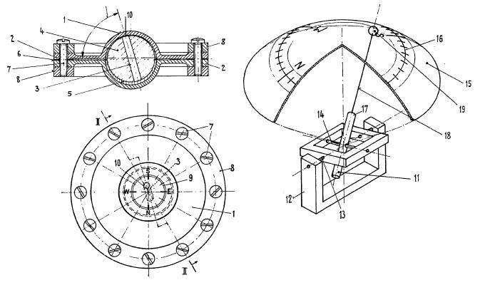 kompass selber bauen magnetkompass technik. Black Bedroom Furniture Sets. Home Design Ideas