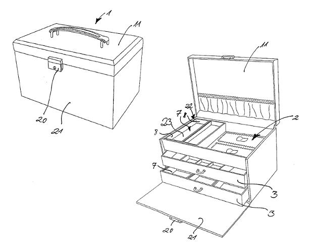 schmuckkoffer selber bauen schmuckkasten technik. Black Bedroom Furniture Sets. Home Design Ideas